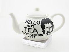 hello, etsi lenni, laugh, teapots, stuff, lionel richi, funni, teas, thing