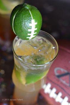 INGREDIENTS: 1 1/2 oz. Karma Tequila 1 oz. Cynar 1/2 oz. Ginger Syrup 2 lime wedges Peroni Beer #DIY #Cocktails #Football