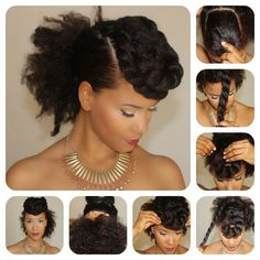 Bold bang Twist, for when my hair gets longer, only I'd pin the back up
