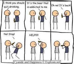 drinking...