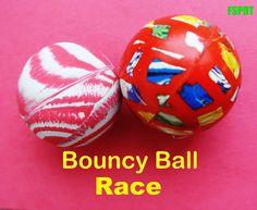 Bouncy Ball Race-my boys love this  :-)