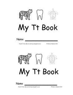 Emergent Reader: My Tt Book: Sight Words (I, see, the) 12 pages - Designed for differentiation - More letter books and emergent readers available - $