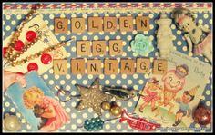 Golden Egg Vintage golden egg, egg vintag