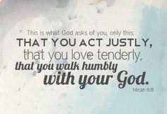 micah 68, walks, god, faith, jesus