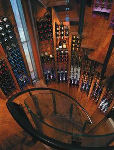 Old silo converted into a wine cellar, this is the size of wine cellar I need!'