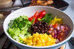 Chipotle's Chicken Burrito Bowl with Cilantro Lime Rice | Brunch Time Baker chicken burrito, lime sour cream chipotle, lime rice, cilantro lime, burrito bowl