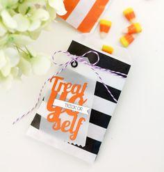 Trick or Treat Yo Self Halloween treat bag from Damask Love