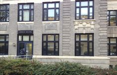 10/12/14 -- Carnegie Building houses the College of Communications including four departments: Advertising/Public Relations, Film-Video and Media Studies, Jounalism, and Telecommunications. http://comm.psu.edu/