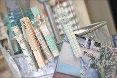 DIY June Pinterest Project: magnetic decorator clothes pins