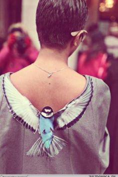 Bird shirt - Put a bird on it.