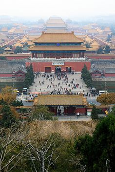 China. Forbidden City   Beijing