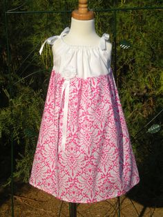 Little Girl's Pillowcase Dress  Ready to Ship   Size by Edenspring, $26.00