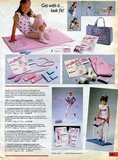 The fun of a new Get in Shape, Girl! workout cassette (and, most importantly, the rockin' accessories it came with). | 53 Things Only '80s Girls Can Understand