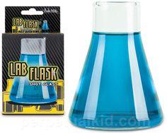 LAB FLASK SHOT GLASSES
