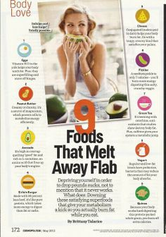 9 foods that melt fat