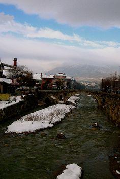 Prizren, Kosovo. Such a beautiful city.