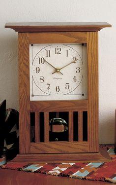 Arts And Crafts Clocks On Pinterest Craftsman Wall
