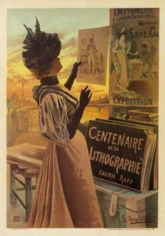 Vintage French Art Exhibition