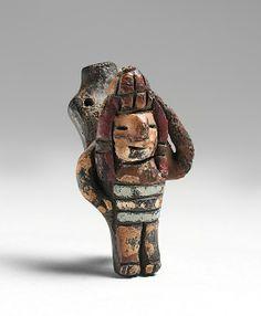 Whistle. Pre-Columbian  Date: 300–200 BCE  Geography: Ocucaje-South Coast, Paracas, Peru
