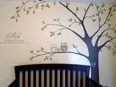 nursery tree mural - Google Search