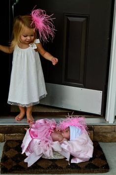 cute idea when new baby comes home