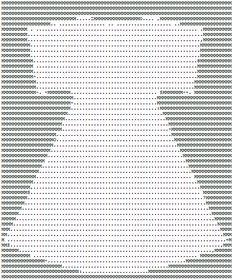 ASCII Art Dress