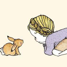 Rabbit Girl    Trafalgar Square