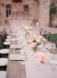 {Wedding Trends} : Strictly Long Tables by Belle The Magazine