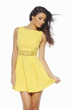 Love this Yellow summer dress!