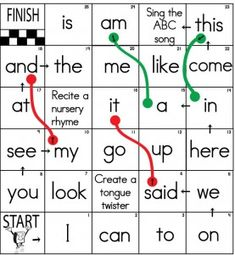Sight-Word-Board-Games