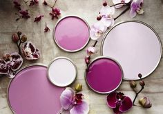 Floral Colour Trend: Radiant Orchid / Wedding Style Inspiration / LANE (instagram: the_lane)