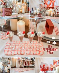 {Tutorial} How to Make a Peppermint Serving Tray! on http://pizzazzerie.com
