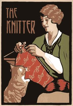 "My kid's team mates in soccer used to call me ""the lady that knits"". I love that title!"