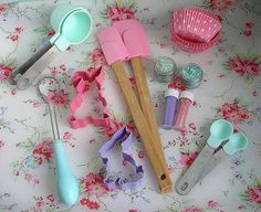 kitchens, bake accessori, bake item, dream kitchen, bake set