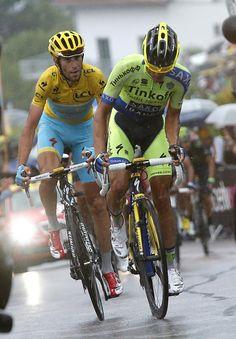 Tour de France 2014 - Stage 8: Tomblaine - Gérardmer La Mauselaine 161km photos - #Contaodr attacks #Nibali on the final climb