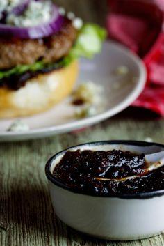 Bacon Jam (Beef burgers with Bacon Jam  Gorgonzola) #burger #recipe #bacon