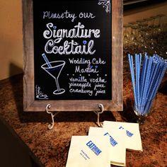 Signature drink!