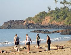 Patnem beach, Goa, India (© Dave Abram/Getty Images)