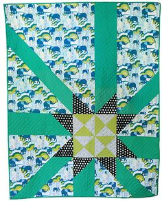 Freshly Pieced Modern Quilts: A New Jungle Ave. Quilt