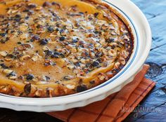 Pumpkin Hazelnut Flaugnarde (Clafoutis) | Skinnytaste