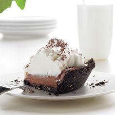 Chocolate Cream Pie   MyRecipes.com