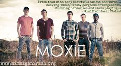 Moxie combines a solid traditional backbone with jazz, rock, bluegrass, and world music rhythms & harmonies to create a rich, intricate sound. #mimf2014