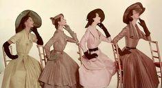 1950s Taffeta Shantung Dresses
