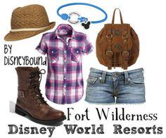 . disney outfits, boot, disney resorts, disney inspired outfits, disney world resorts, fort wilder, disney bound, disneybound, disney fashion