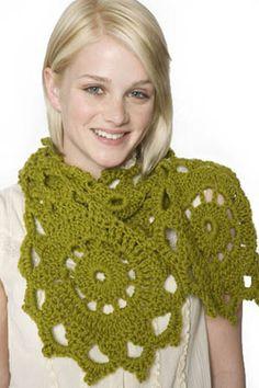 free medallion crochet pattern