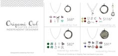 Origami Owl Locket Ideas $68 - $116 plus tax and shipping.  Gifts for Her.  http://jenniferc.origamiowl.com/