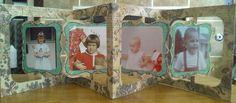 accordion album, accordian fold, accordion card, accordian card, accordian album