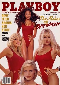 Playboy Cover, June 1998.