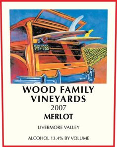 2007 Wood Family Vineyards Livermore Valley Merlot