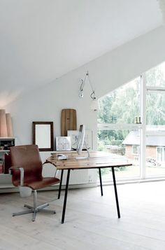 A white Danish home on My Scandinavian Home